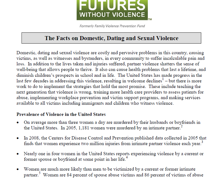 Domestic violence in United States